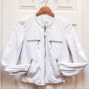 JOIE Lambskin Leather Jacket size XS